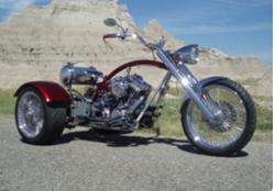 Flyin Trike Version 1 in the Badlands