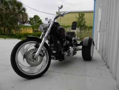 Harley Davidson Softail Trike Conversion | Frankenstein