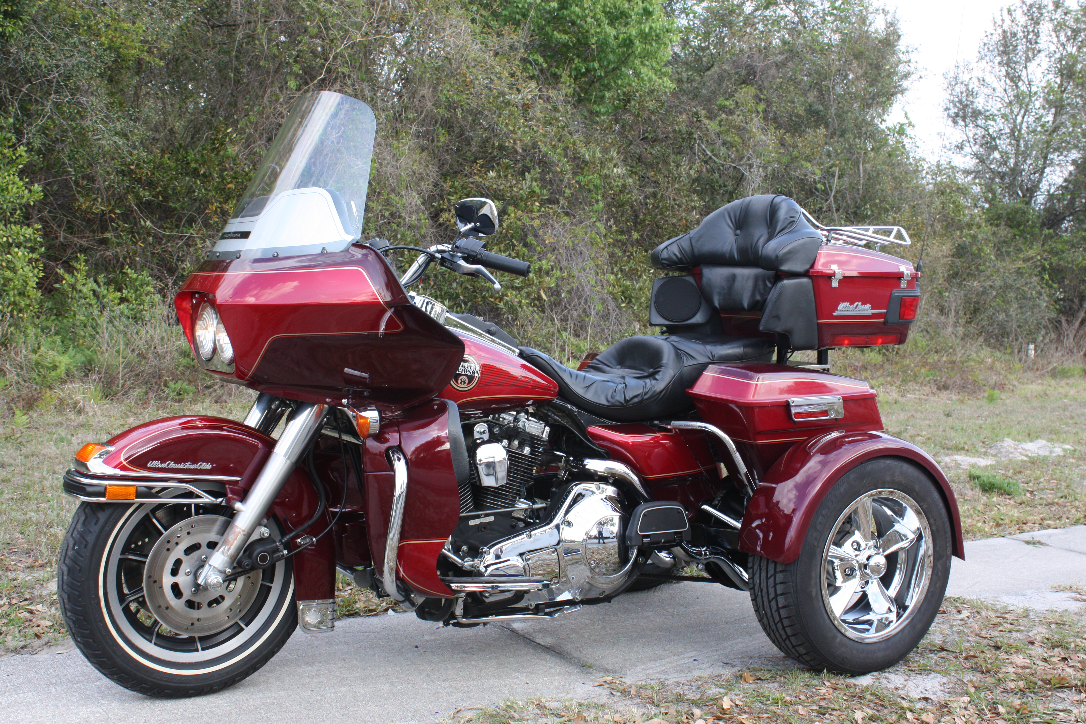 Harley Tour Glide Trike Conversion Kit